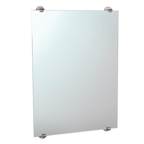 Gatco 1569 Zone Minimalist Mirror, Satin Nickel front-974505
