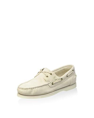 Timberland Scarpa Boat Shoe Classic Rainy Day  [White]
