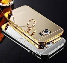 Back Cover For SAMSUNG GALAXY S6 EDGE GOLD PLATED With Free Key Ring