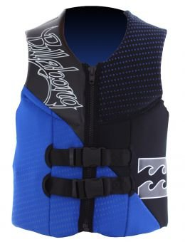 Billabong - Gilè Rewind, modello 2013, taglia XS, blu