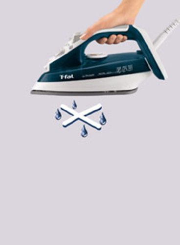how to clean a non stick iron soleplate