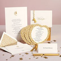 Amazoncom martha stewart wedding bell invitation suite for Wedding invitation kits martha stewart