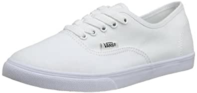 Vans U Authentic Lo Pro, Baskets mode mixte adulte - Blanc (True White/True) 34.5 EU 2.5 UK 3.5 US
