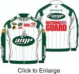 NASCAR Dale Earnhardt Jr. #88 Amp Energy Mens X-Large Size Twill Uniform Jacket
