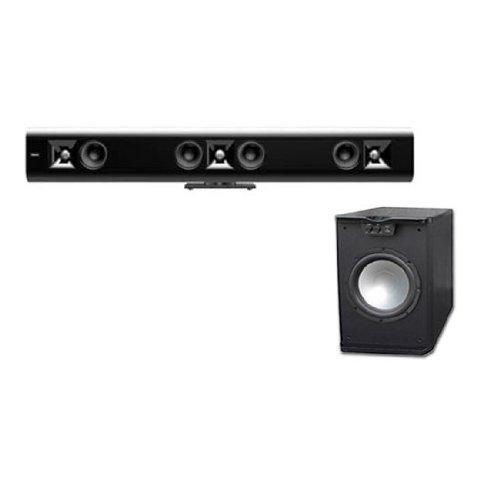 Klipsch Gallery SoundBar G-42 Black with FREE PA-10W 500 WATT Sub
