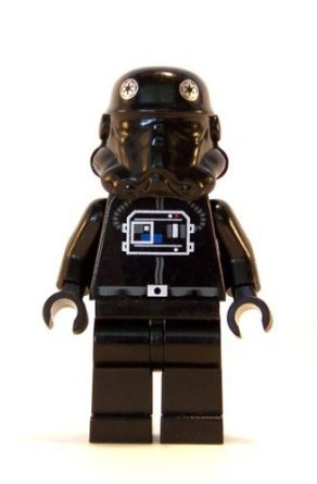 TIE Fighter Pilot - LEGO Star Wars Figure - 1