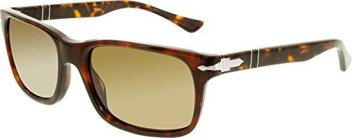 Persol-PO3048S-Sunglasses-2457-58-Havana-Frame-Crystal-Brown-Polarized