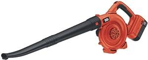 Black & Decker NSW18 18-Volt NiCad Cordless Sweeper