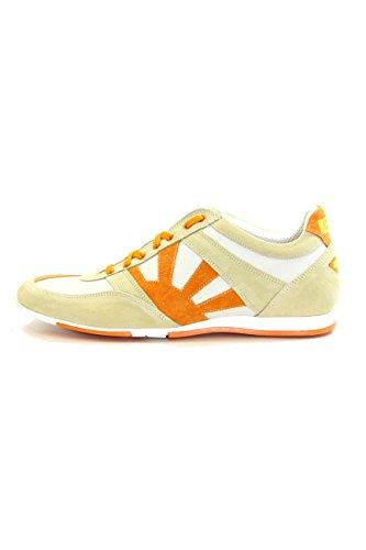 kejo scarpa uomo Sneaker pelle colore arancio taglia 43