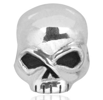 Harley-Davidson® Sterling Silver Willie G Skull Ride Bead. HDD0041