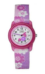 Timex Kids' Floral Strap watch #T7B011