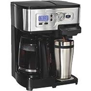 Hamilton Beach 12 Cup Versatile Coffee Brewer-2 WAY DELUXE BREWER