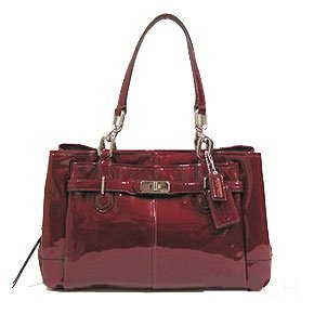 Coach Chelsea Patent Jayden East West Carryall 17855
