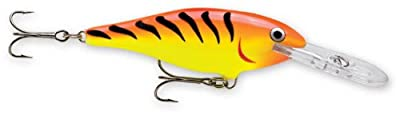 Rapala Shad Rap 08 Fishing Lure 3125-inch Hot Tiger by Rapala