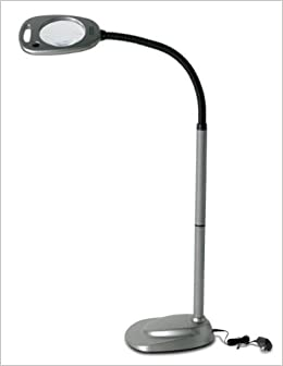 Amazoncom mighty bright floor led light and magnifier for Amazon magnifier floor lamp