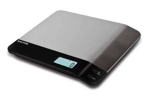 Salter 2049778 Balance de Cuisine Electronique Inox 24 x 5 x 24 cm