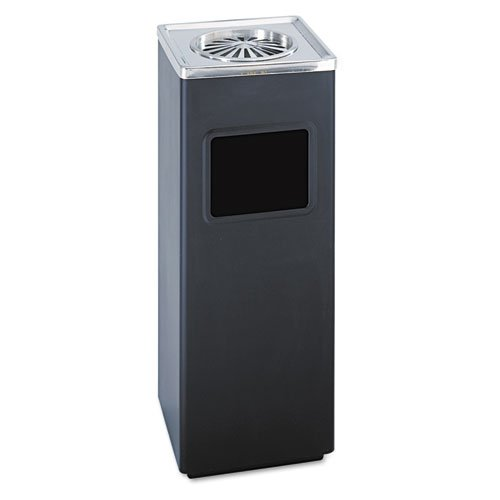 SAF9696BL - Safco Ash-N-Trash Sandless Urn Smokers Pole (Smokers Butt Can compare prices)