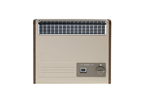 Baxi 243160 Oak Brazilia F5S Natural Gas Wall Heater, Wall