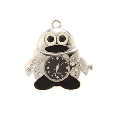Zcl Zp 64Gb Big-Eye Cartoon Owl Pattern Crystal Jewelry Style With Clock Usb Flash Drive