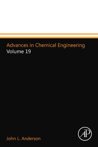 Advances in Chemical Engineering: Volume 19