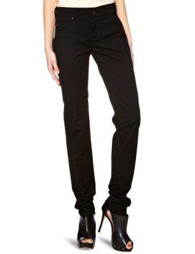 Desigual Pumpkins - Jeans slim, donna, Nero (Black), 38 IT (24W/34L)