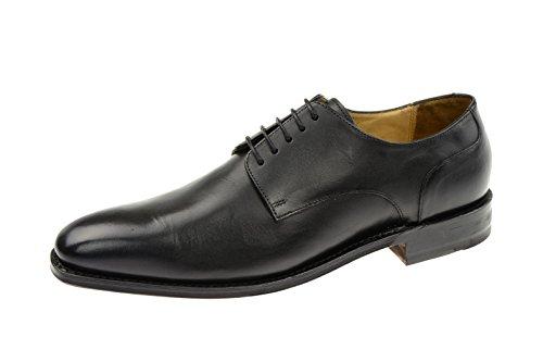 Gordon & Bros Milan Herrenschuhe schwarz rahmengenähte Echtleder Schuhe 4374