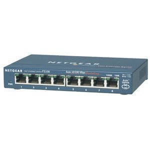 Netgear Prosafe Warranty on Netgear Business Class Netgear Prosafe Fs108 Ethernet Switch  Fs108na