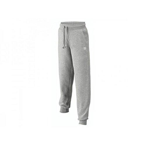 Wilson Cotton Pantaloni, Grigio, L