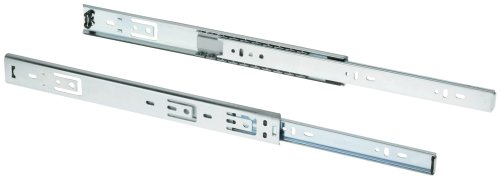 Shop Fox D3024 14-Inch 3/4-Ext Drawer Slide 80-Pound Capacity Side Mount, Pair