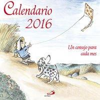 Calendario Un consejo para cada mes 2016 (Calendarios y Agendas)