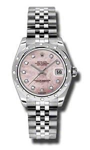 Rolex Datejust Steel 24 Diamond Bezel - Jublilee Bracelet