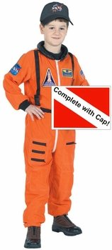Kid's Astronaut Space Suit Costume (Size: X-Small 2-3)