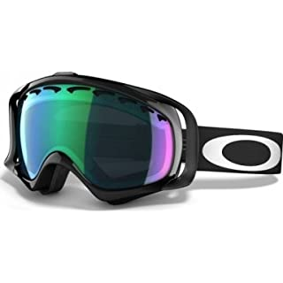 Oakley Crowbar Sunglasses, Jet Black, Prizm Jade Iridium