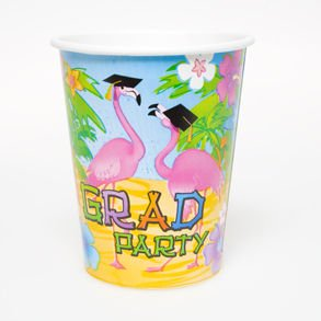 Sale Grad Flamingo Paper Cups Sale