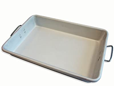 Alegacy A12183 Professional Heavy Weight Aluminum Roast Pan, 12 by 18 by 3-1/2-Inch