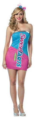 Rasta Imposta Nestle Sweetarts Tube Dress, Pink/Blue, Adult 4-10 - 1