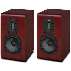 QUAD bookshelf-type speakers S-2 MM (mat mahogany) [pair] (Speaker For Quad compare prices)