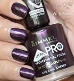 Rimmel Lycra Pro Professional Finish Nail Polish - 412 Chic Cherry