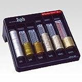 エンゲルス コインカウンター 硬貨計数容器 黒 YH3000BK