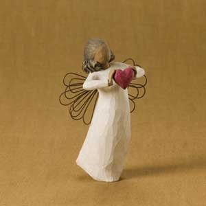Willow Tree With Love Angel Figurine, Susan Lordi 26182