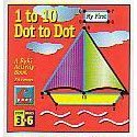 1 to 10 Dot to Dot Buki Activity Book Boat
