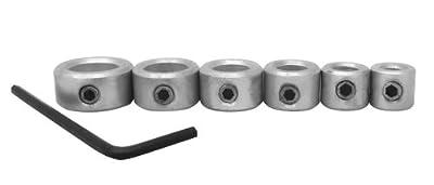 Milescraft 5342 Drill Stop Set, 6-Piece