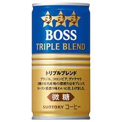 サントリー BOSS(ボス) トリプルブレンド 185g缶×30本入