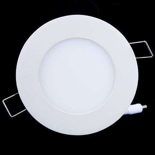 6W Panel Light 390Lm Round Led Ceiling Light/ Wall Light Pure White