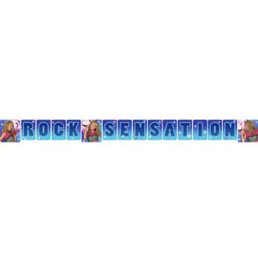 Hannah Montana - Rock the Stage Banner Letter Banner (1 per package)