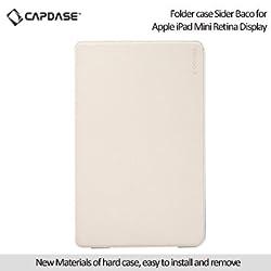 Capdase Sider Baco Folder Case for Apple iPad Mini / iPad Mini with Retina Display - White / Blue (FCAPIDMR-1B23)