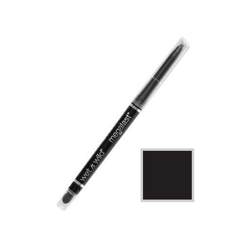 ウェットアンドワイルド MEGA LAST RETRACTABLE EYELINER Black