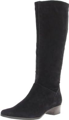 Vigotti Women's Silke,Black Suede,7 2A (N) US
