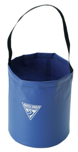 Seattle Sports Camp Bucket (Blue) (Collapsible Water Bucket compare prices)