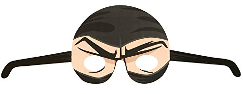 Ninja Warrior Party Paper Masks (8)